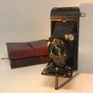 Vintage Kodak Pocket Folding Bellows with Stand